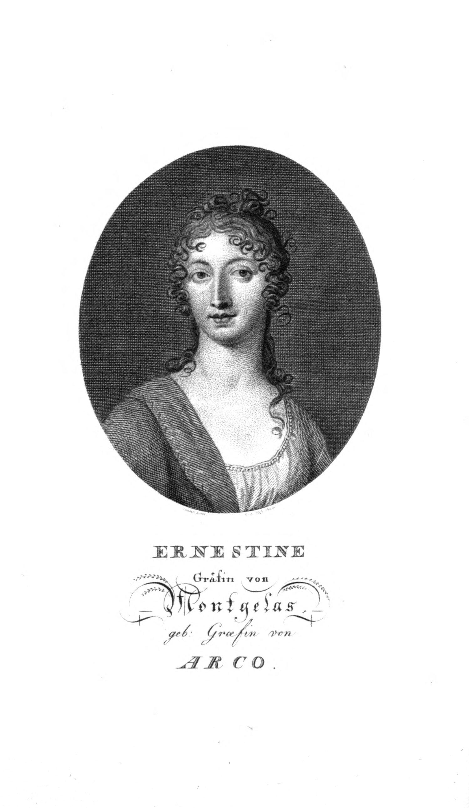 Abb.: Gräfin Ernestine von Montgelas