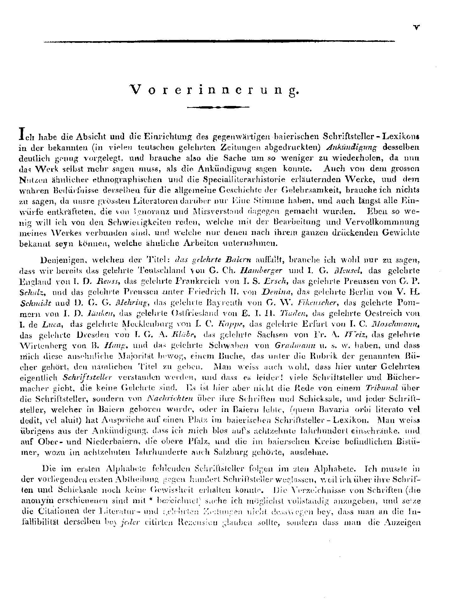 Seite V